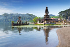 Ulun Danu temple Royalty Free Stock Images
