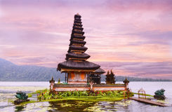 Ulun Danu temple Stock Photos