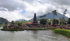 Ulun Danu temple, Bali Stock Photos