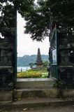Ulun Danu Temple, Bali, Indonesia Royalty Free Stock Photos