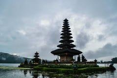 Ulun Danu temple in Bali island Stock Photography
