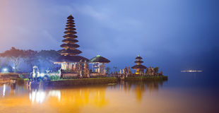 Ulun Danu temple Bali Stock Photography