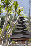 Ulun Danu temple Beratan Lake in Bali Indonesia Royalty Free Stock Images