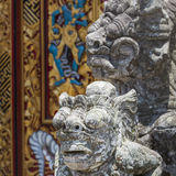 Ulun Danu temple Beratan Lake in Bali Indonesia Stock Photos