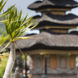 Ulun Danu temple Beratan Lake in Bali Indonesia Royalty Free Stock Photo