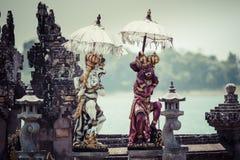 Ulun Danu temple Beratan Lake in Bali Indonesia Stock Images