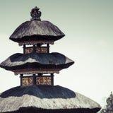 Ulun Danu temple Beratan Lake in Bali Indonesia Royalty Free Stock Photography