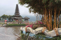 Ulun Danu temple Royalty Free Stock Photos