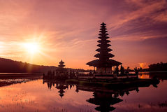Ulun Danu Temple Royalty Free Stock Photography