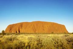 Uluru, захолустье Австралия Стоковое Фото