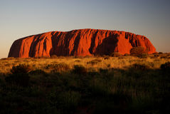 Uluru Royalty Free Stock Photos
