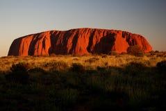 Uluru royalty-vrije stock foto's