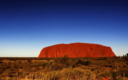 Uluru Foto de Stock Royalty Free