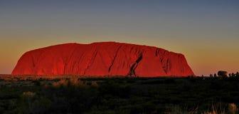 Uluru Stock Afbeelding