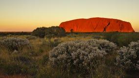Uluru Immagini Stock Libere da Diritti