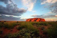 Uluru Photographie stock libre de droits