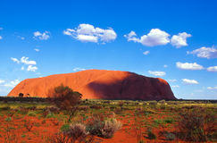 Uluru Royalty Free Stock Photo