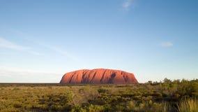 Uluru, Australian symbol Stock Photography