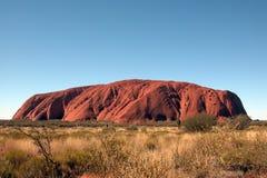 Uluru (Ayers Felsen) Stockbild