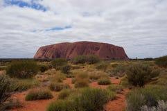 Uluru (Ayers-Felsen) stockfoto