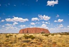 Uluru (Ayers Felsen) Lizenzfreies Stockfoto