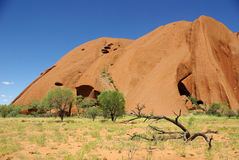 Uluru (Ayers Rock), Australia Stock Photo