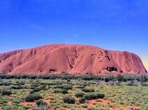Uluru Ayers Rock Australia stock photo
