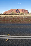 Uluru, Ayers Rock, Northern Territory Stock Photo