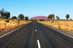 Uluru Ayers Rock, Northern Territory, Australia stock photos