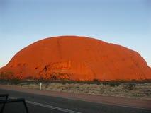 Uluru - Ayers-Rots royalty-vrije stock afbeeldingen