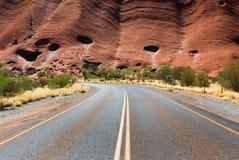 Uluru Ayers skała, terytorium północne, Australia zdjęcia royalty free