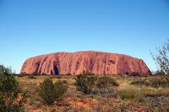 Uluru, Ayers skały widok obraz stock