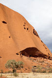 Uluru - Ayers vaggar Royaltyfri Foto