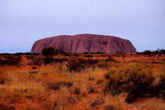 Uluru Ayers vaggar Royaltyfri Foto