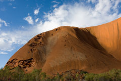 Uluru (ayersrots) Royalty-vrije Stock Fotografie