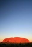 Uluru, Ayres Rock, Australië Royalty-vrije Stock Foto's