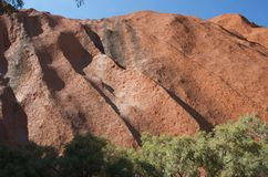 Uluru close up Stock Images