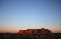 uluru för tjuta för rock för Australien ayerskata arkivfoton