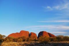 Uluru-Kata Tjuta国家公园 免版税图库摄影