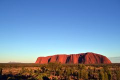 Uluru with Kata Tjuta Royalty Free Stock Image