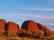 The Uluru-Kata Tjuta National Park Royalty Free Stock Photography
