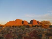The Uluru-Kata Tjuta National Park Stock Photography