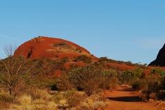 Uluru-Kata Tjuta National Park Royalty Free Stock Photo