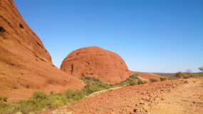 The Uluru and Kata Tjuta National Park, Australia stock images