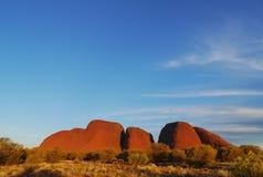 Uluru-Kata Tjuta nationalpark royaltyfria foton