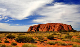Uluru. KataTjuta national park Australia Stock Images