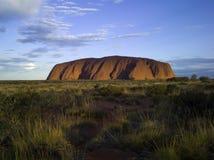 Uluru (roccia di Ayers) Fotografie Stock Libere da Diritti