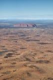 Uluru, roccia di Ayers, territorio settentrionale, Australia Fotografia Stock Libera da Diritti
