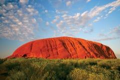 Uluru (rocha de Ayers) fotografia de stock