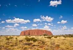 Uluru (rocha de Ayers) Foto de Stock Royalty Free
